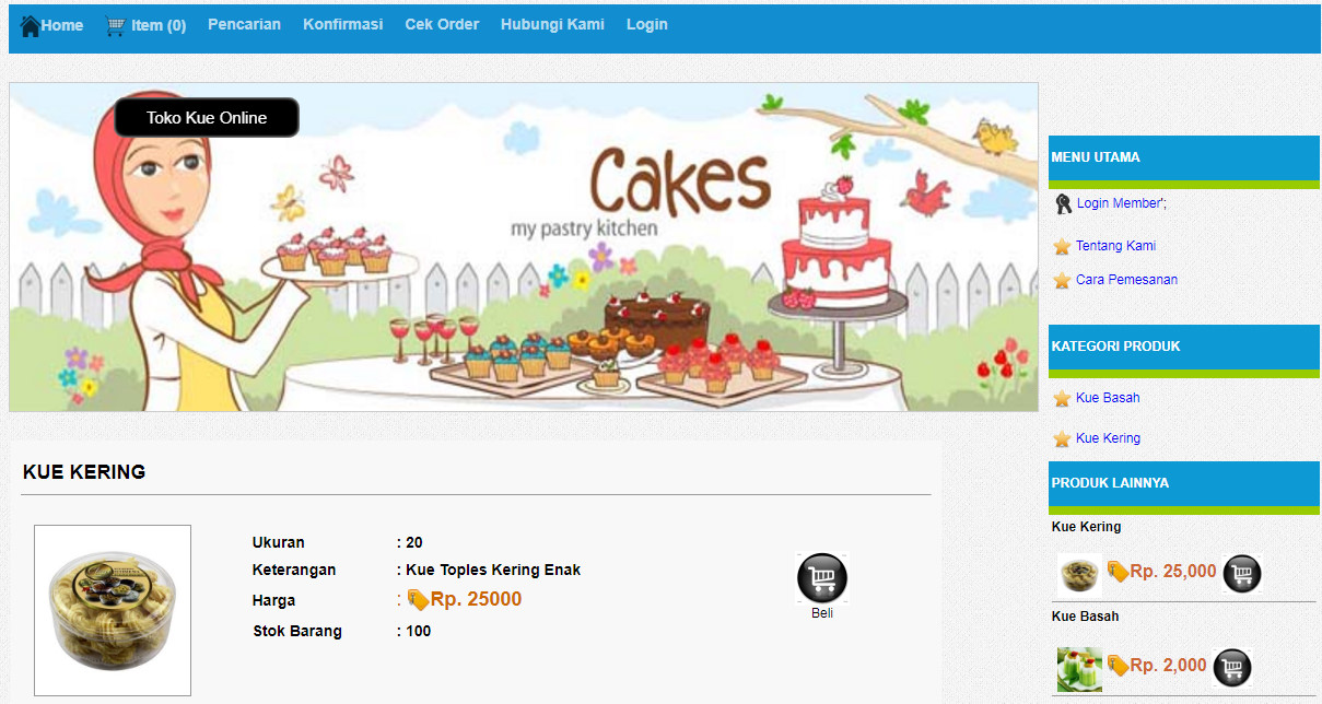 JASAKODING.ID - Download Sourcecode Toko Kue Online  5a096a26b4