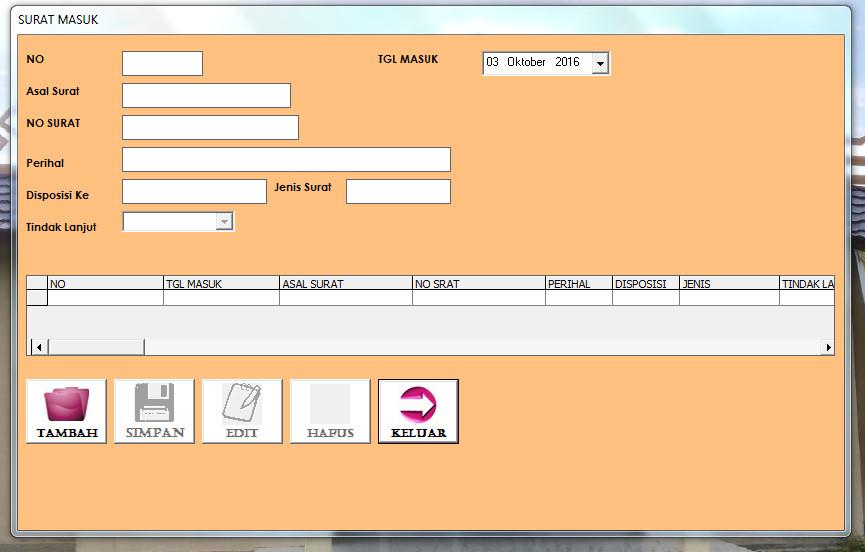 JASAKODING.ID - Download Aplikasi Mengelola Surat Masuk